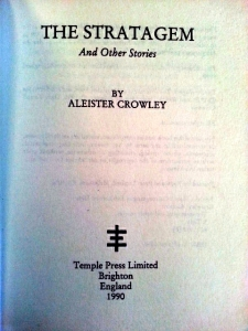 The Stratagem By Alestier Crowley